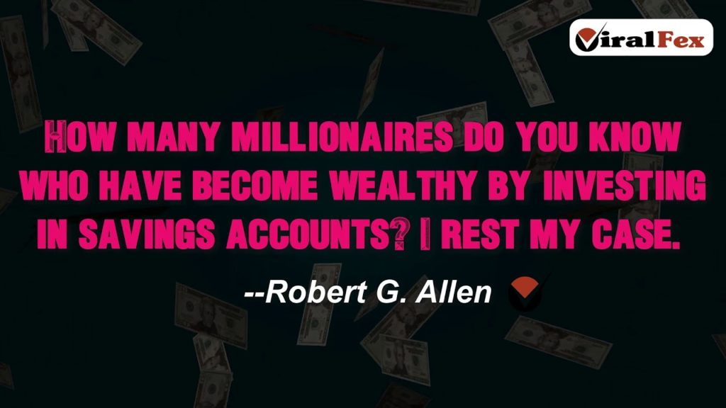 How Many Millionaires Do You Know - Quote By Robert G. Allen Video