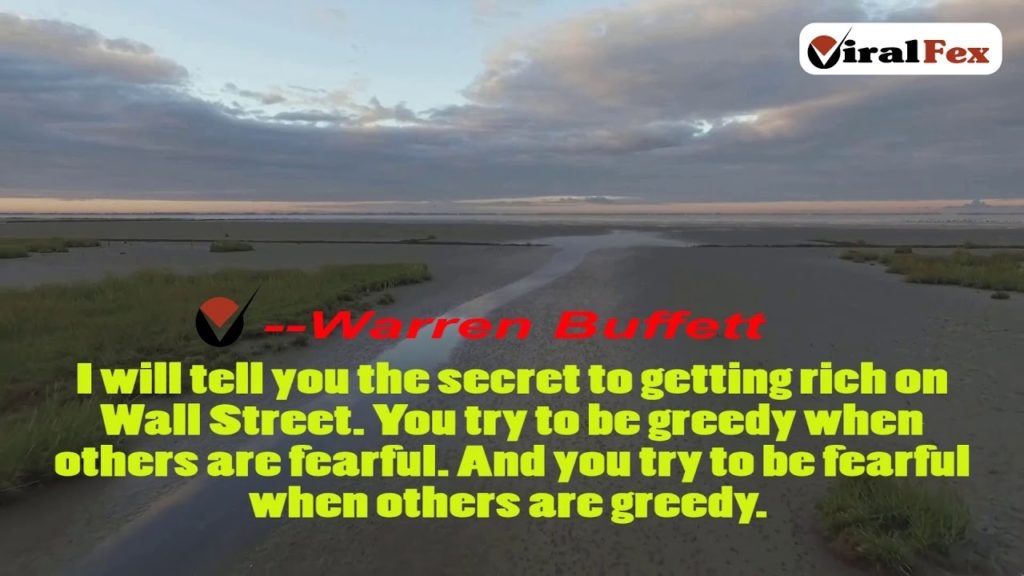 I Will Tell You The Secret To Getting Rich - Warren Buffett Video Quotes